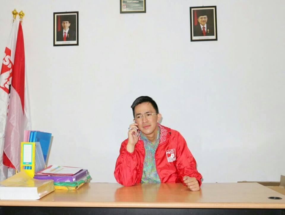 Melky Pangemanan, S.IP, MAP - Ketua DPW PSI Sulut.