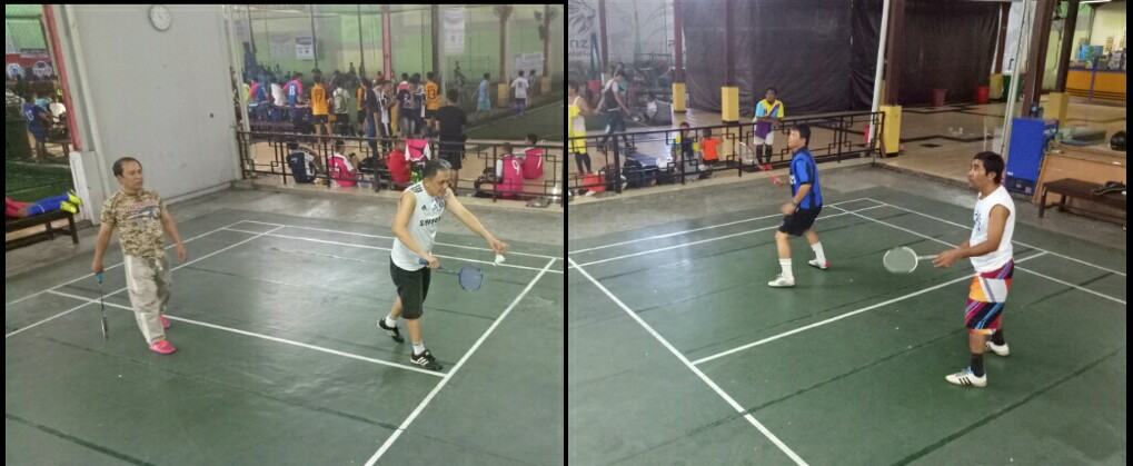Pemuda GMIM Lintas Generasi. Badminton.