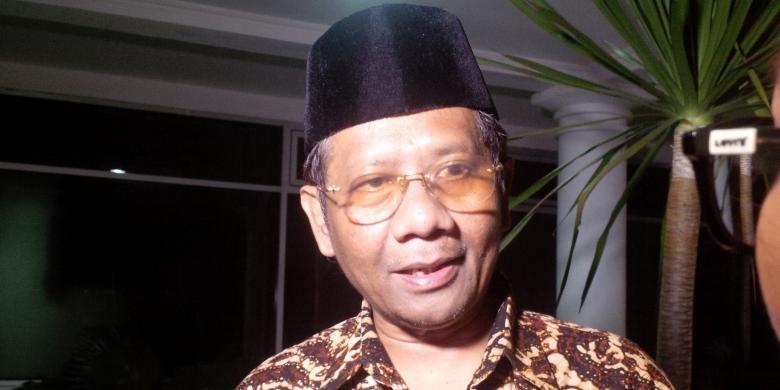 Mantan Ketua Mahkamah Konstitusi Mahfud MD.