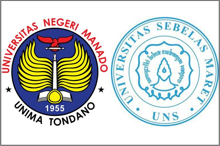 Logo UNIMA dan UNS
