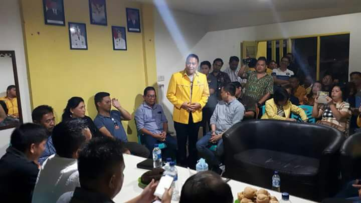 Suasana verifikasi faktual Partai Golkar Tomohon. (Foto:fargosulutimes)