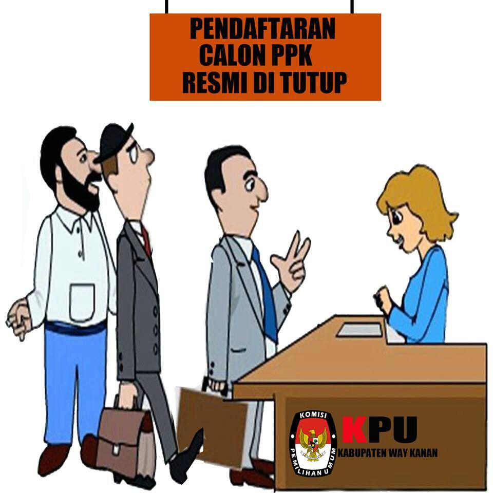 pendaftaran calon ppk resmi ditutup