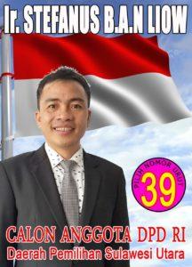 DPD RI Sulawesi utara stefanus