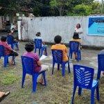 Tim PKM FEB Unsrat Bekali Warga Sakobar Terkait Penguata Ekonomi Rumah Tangga