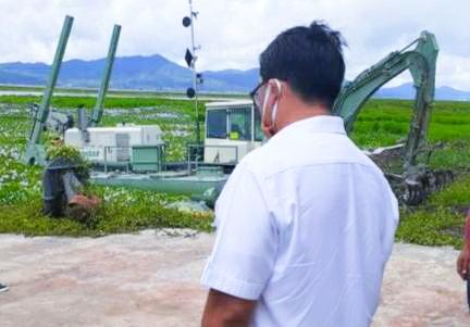Wagub Kandouw Optimis Tahun ini Danau Tondano Bebas Eceng Gondok