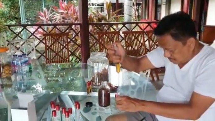 Minyak Pala Cengkeh Racikan Gubernur Olly Manjur Tangkal Covid 19