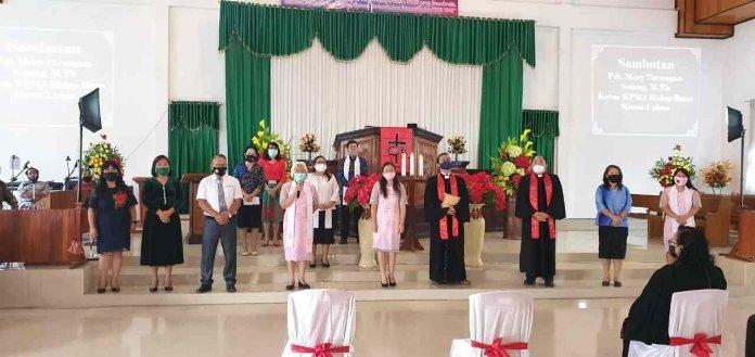 Jura Gantikan Waljufri Pendeta Jemaat Hidup Baru Maesa Unima