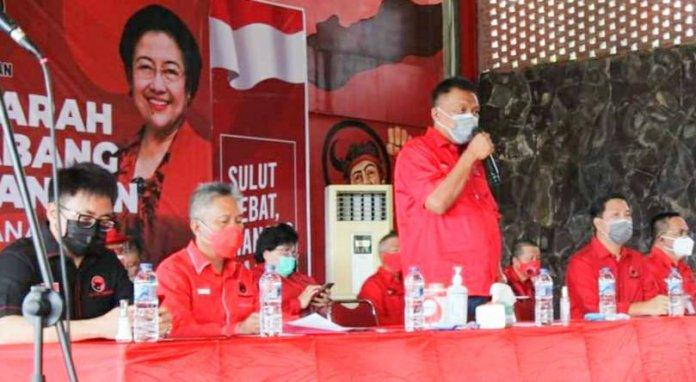 DPC PDIP Manado-Minut-Tomohon Gelar Musancab