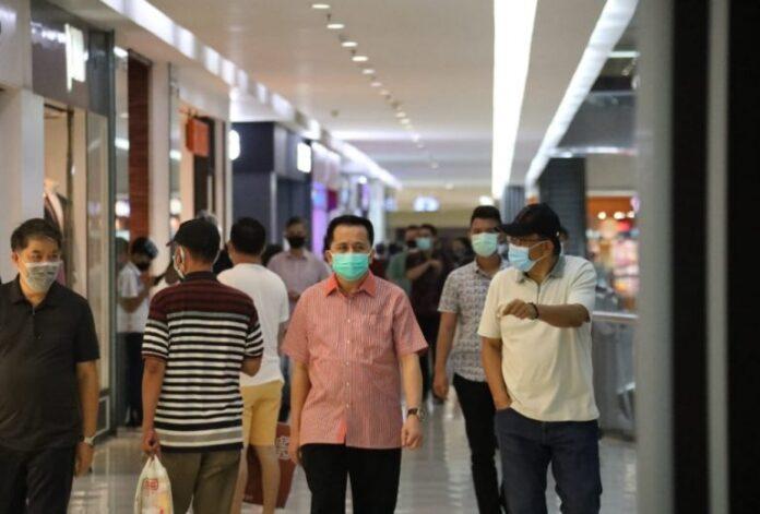 Pusat Kota Jadi Langkah Pertama Pjs Gubernur Sulut Agus Fatoni Pantau Penerapan Protap Kesehatan