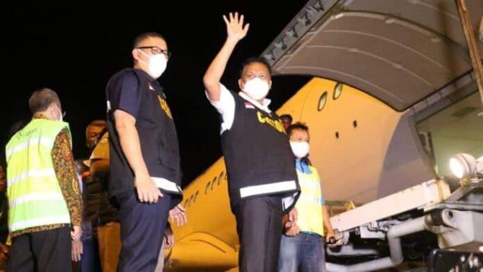 Gubernur Olly Lepas Hasil Perikanan dari Manado ke Jepang