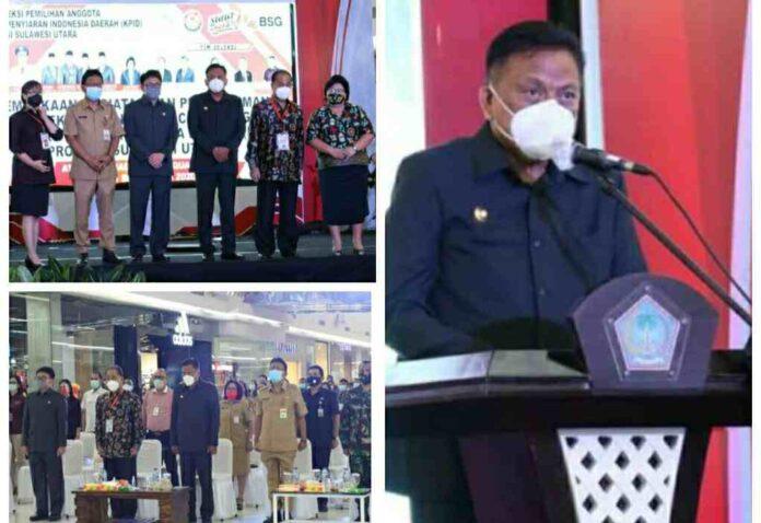 Gubernur Olly Buka Seleksi Administrasi Calon Komisioner KPID Sulut