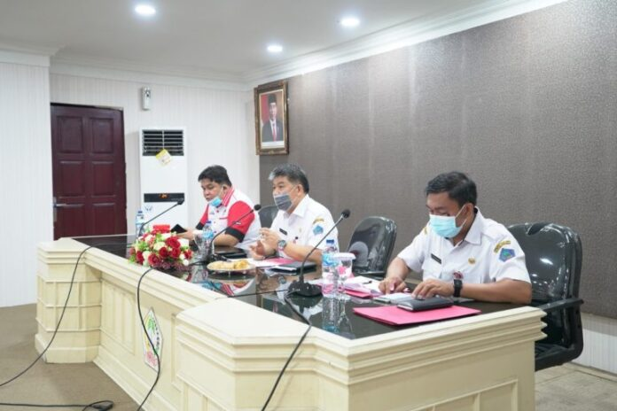 Peringatan HUT Provinsi Sulut Ke-56 Ikuti Protap Covid 19