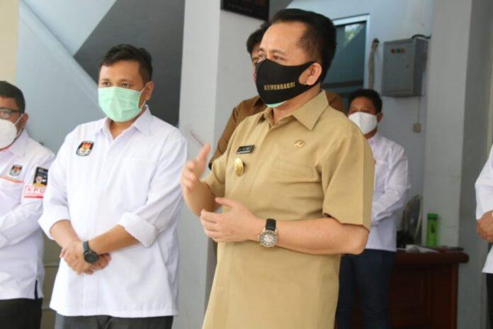 Pjs Gubernur Fatoni Koordinasi Kesiapan KPU Sulut