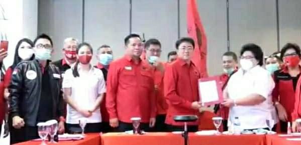 PDIP Sah Usung AA-RS di Pilwako Manado