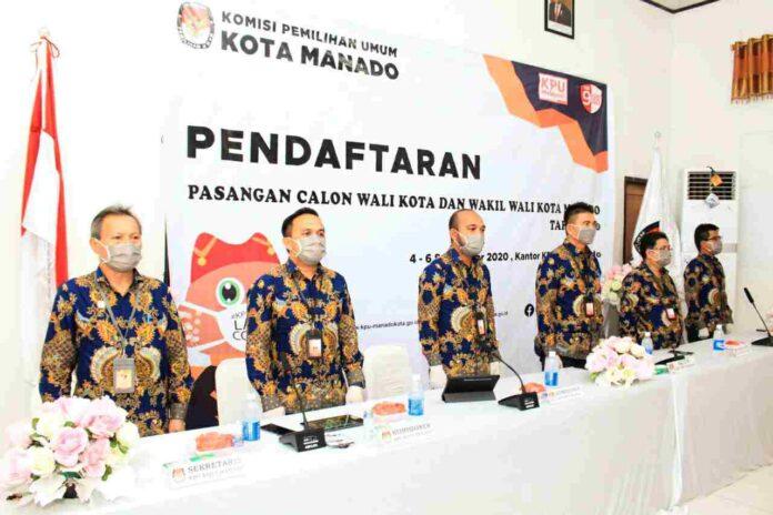 Dokumen Pendaftaran Empat Bapaslon Walikota dan Wakil Walikota Memenuhi Syarat