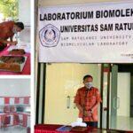 Gubernur Olly Resmikan Laboratorium Biomolekuler Berstandar WHO