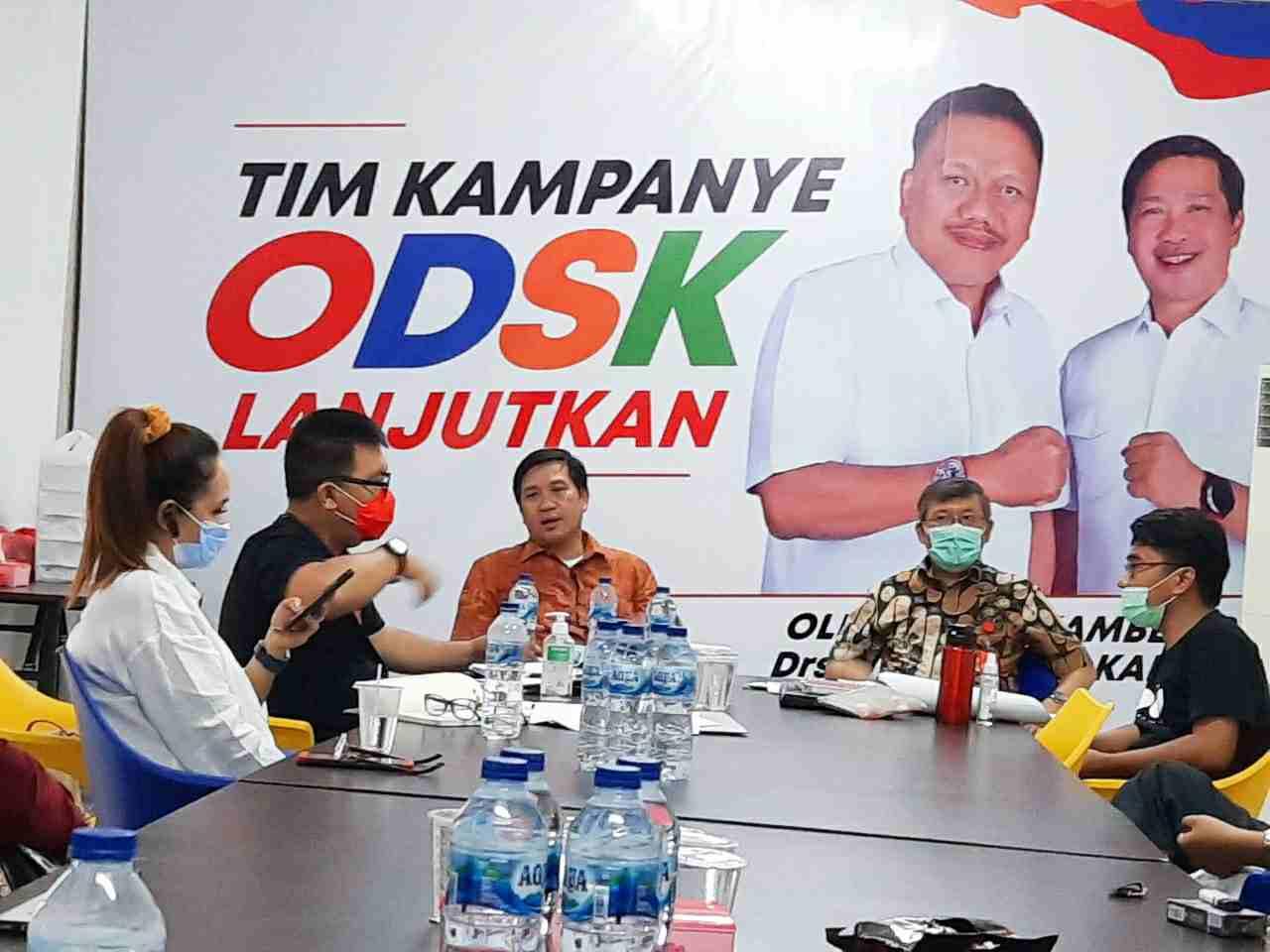 Tim Pemenangan OD-SK Bentuk Satgas Disiplin Protokol Covid-19