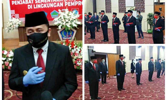 Ini Nama Lima Pjs Bupati/Walikota Dikukuhkan Pjs Gubernur Sulut Agus Fatoni