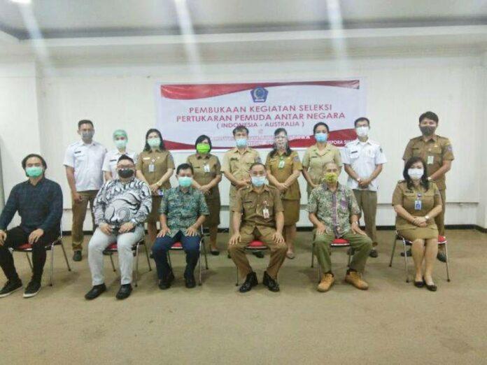 Kembali Sulut Utus Peserta Pertukaran Pemuda Indonesia-Australia