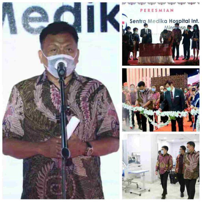 Gubernur Olly Resmikan RS Sentra Medika