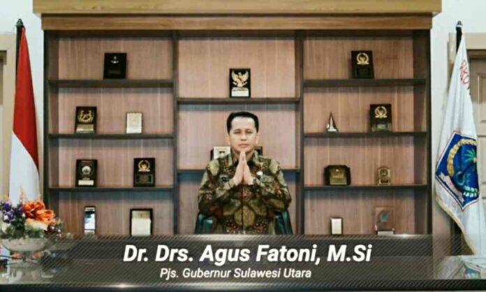 Dua Peristiwa Penting ini Disampaikan Pjs Gubernur Sulut Agus Fatoni di Acara Dies Natalis ke-59 Unsrat