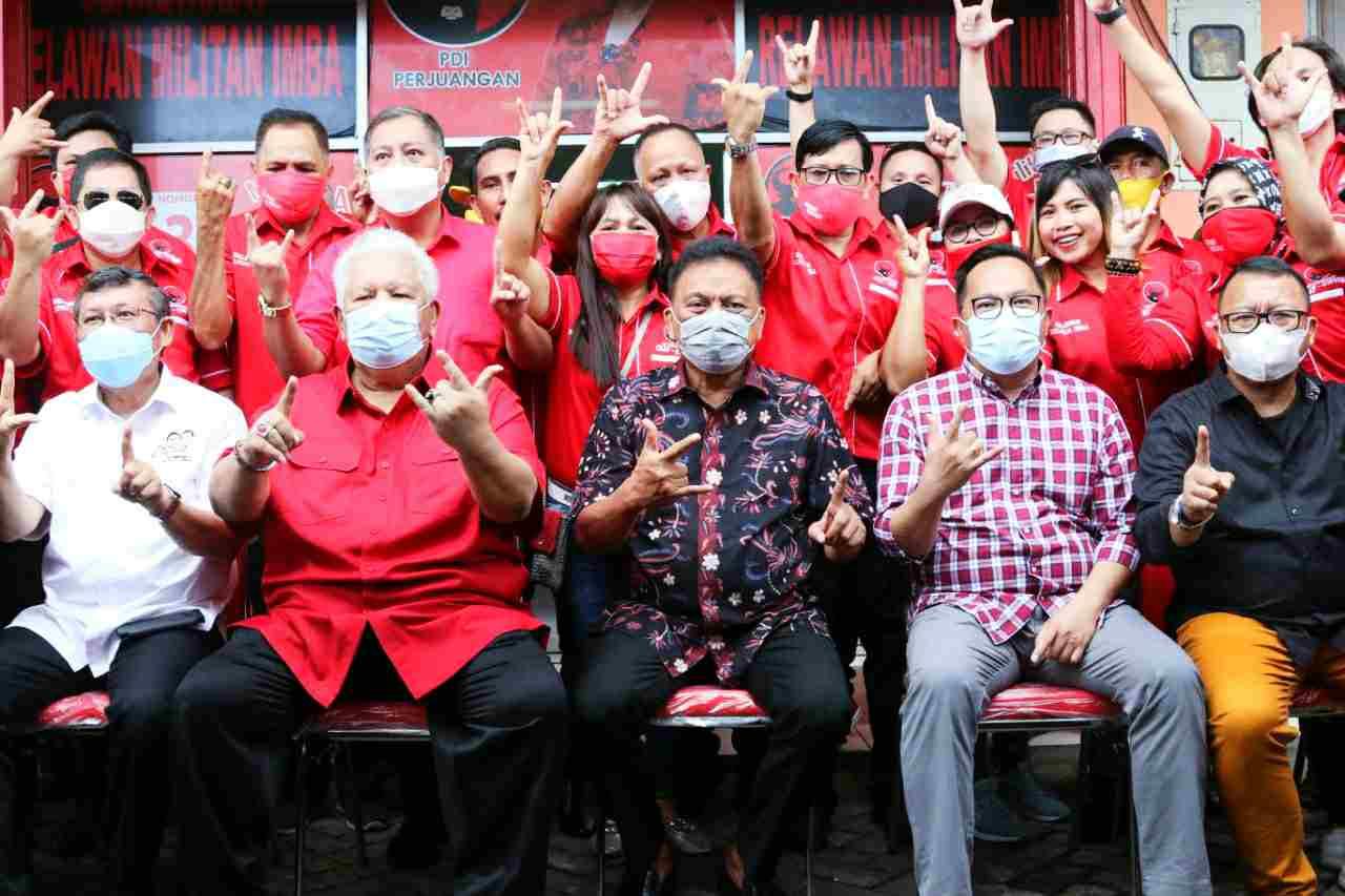 Politisi Besar Merah-Kuning Menyatu Demi Sulut Hebat