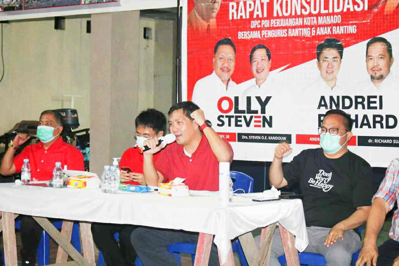 Steven Kandouw Minta Solid Menangkan Pilkada Sulut-Manado