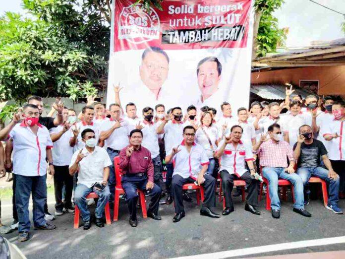 Relawan Sahabat Olly-Steven Wilayah Tagulandang Biaro Siap Menangkan OD-SK