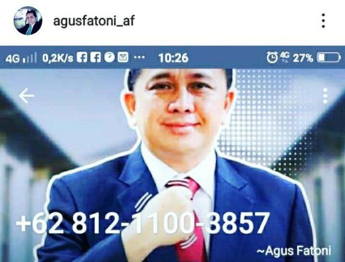 Nomor Telepon Pjs Gubernur Sulut Diretas