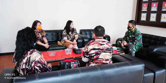 GM FKPPI Manado Konsolidasi ke Pembina Kodim 1309