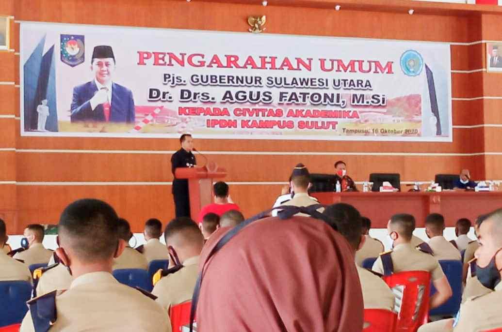 Pjs Gubernur Fatoni Pesan Praja IPDN jadikan Pancasila sebagai Dasar dan Idiologi serta Pegangan Hidup