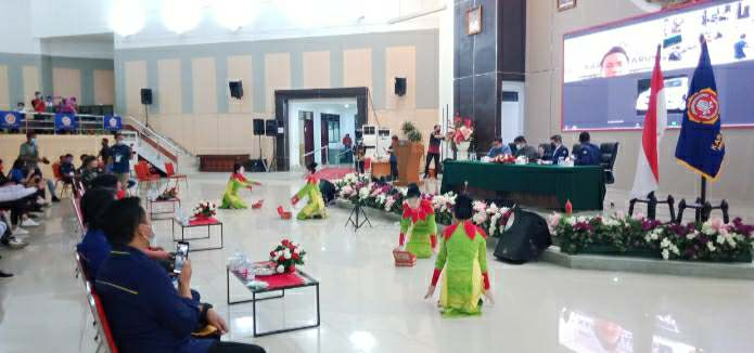 Tarian Kabela Bolmong Ramaikan Opening TKD Karang Taruna Sulut 2020