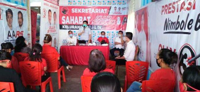 Angouw Ajak Relawan Sahabat Olly-Steven dan AA-RS Sinkronkan Pembangunan dari Pusat-Provinsi-Kota Manado