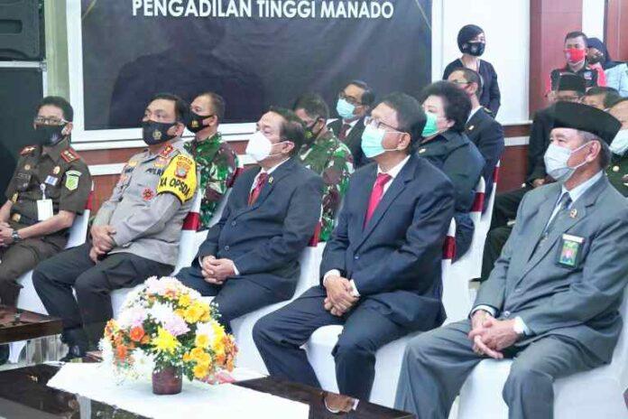 Pemprov Sulut Sambut Peresmian Pengadilan Terpadu di Manado