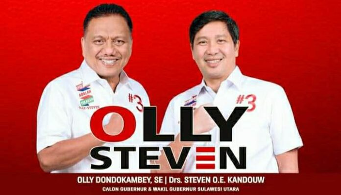 LSI Paparkan Elektabilitas Olly-Steven di Atas 60 Persen