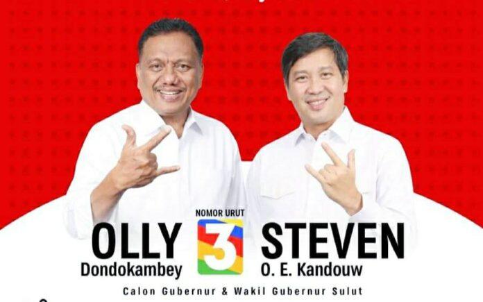 Pemilih dari Golkar dan Nasdem Akui Olly-Steven Sulit Dikalahkan