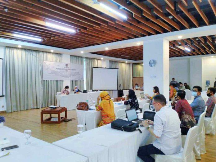 KPU Sulut Gelar FGD Pencegahan Covid-19 Jelang Debat Terbuka Cagub-Cawagub