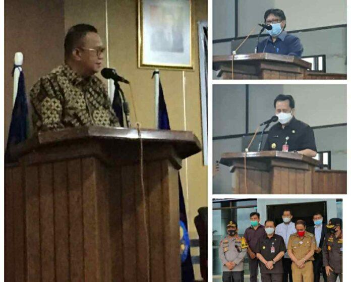 DKPP RI dan Unima Jalin Kerjasama Disaksikan Pjs Gubernur Fatoni