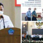 Pjs Gubernur Fatoni Paparkan Posisi Strategis Sulut di Bibir Pasifik Dihadapan Wantannas
