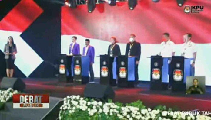 Kasus di Minsel dan Minut Mencuat di Debat Pilgub Tahap III