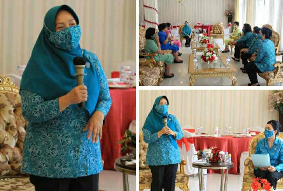 Tyas Fatoni Pimpin Rapat Matangkan Persiapan Gerakan Sulut Bermasker