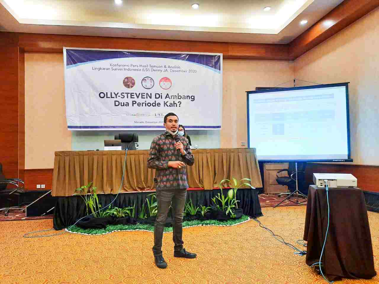 Lingkaran Survei Indonesia Prediksi Olly-Steven Pecahkan Rekor Pilkada di Indonesia