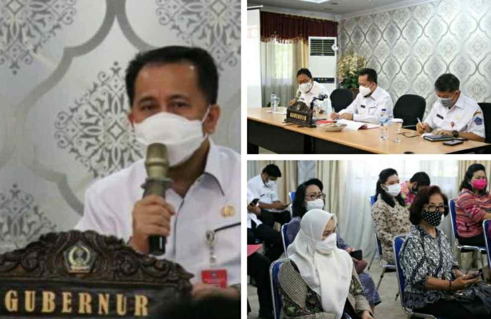 Pjs Gubernur Fatoni Pastikan Launching Gerakan Sulut Bermasker Dihadiri Mendagri