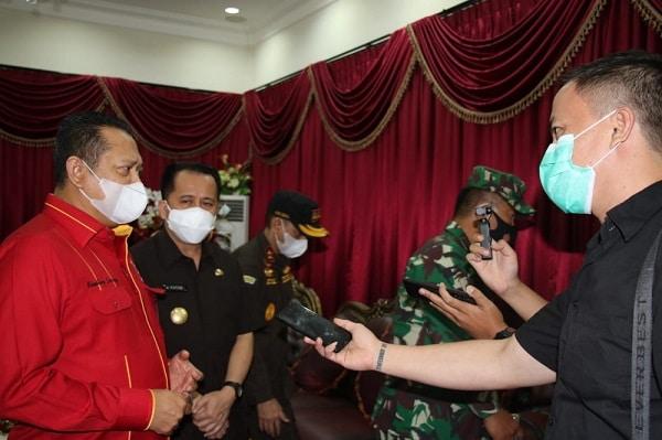 Gerakan Sulut Bermasker dapat Suport dari Ketua MPR Bambang Soesatyo