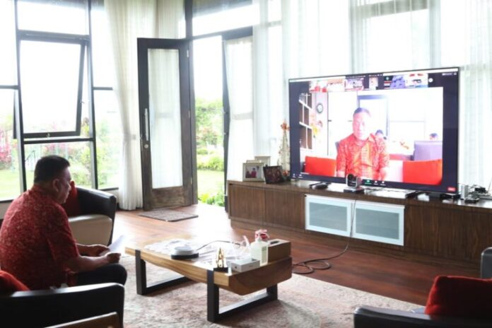Gubernur Olly Minta Bupati/Walikota Follow Up Entry Meeting BPK