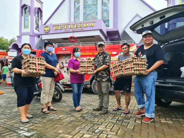 GMIM Zaitun Mahakeret Peduli Bencana Manado