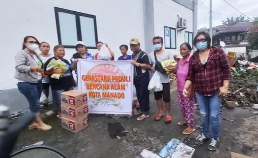 Genastara Sulut Peduli Bencana Manado