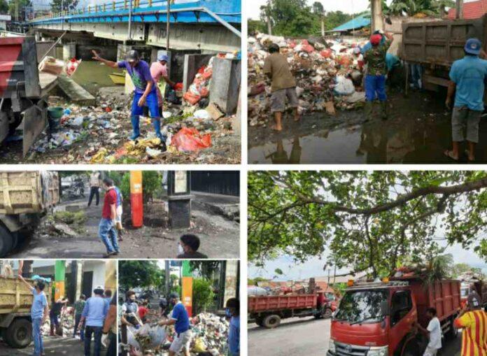50 Armada Truk Dikerahkan ODSK Angkut Sampah di Manado