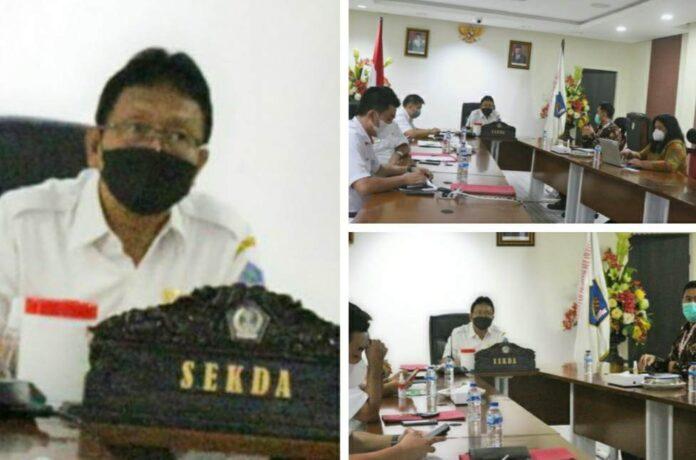 Evaluasi KPK Capaian Manajemen Aset di Sulut 82,6%