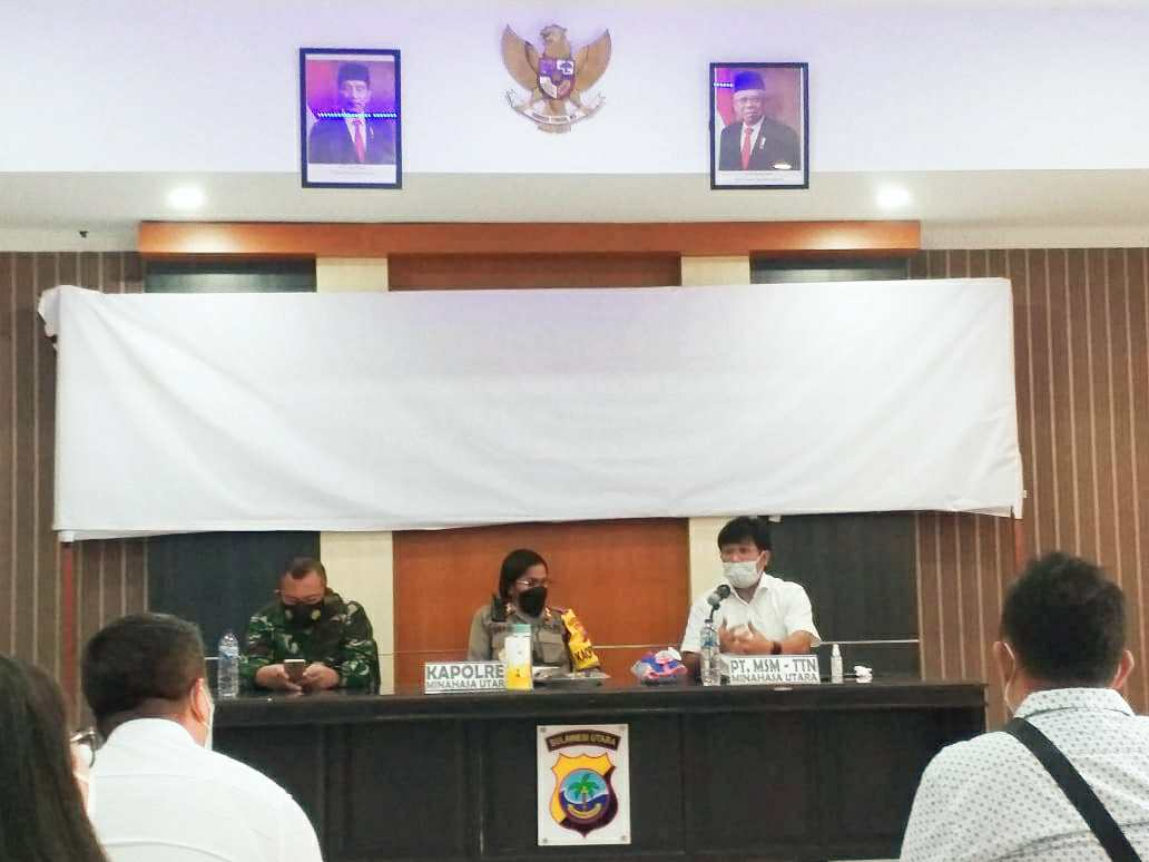 Rakyat Tatelu Raya Tolak Keras Keberadaan PT MSM-TTN